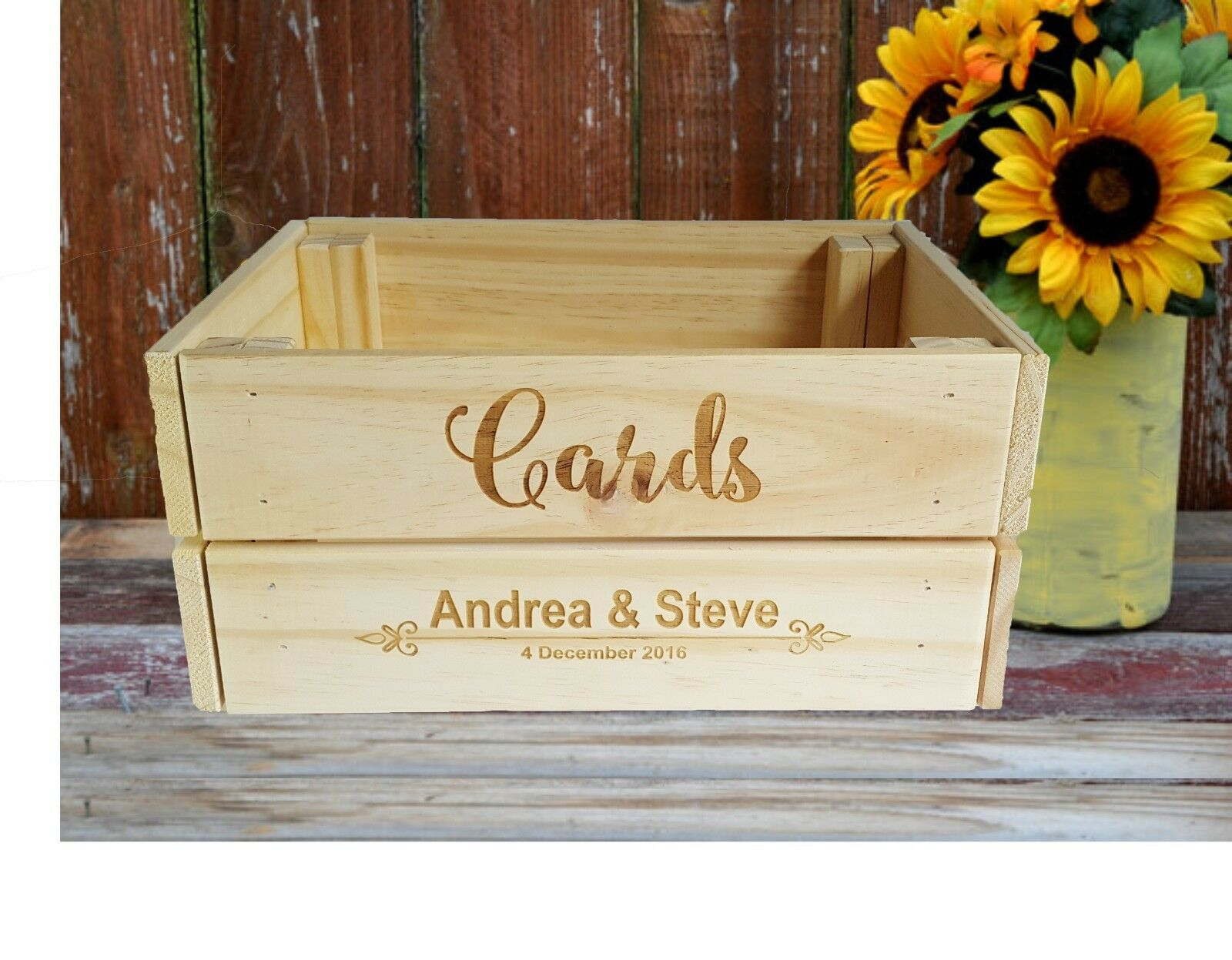 Wishing Well Box Crate