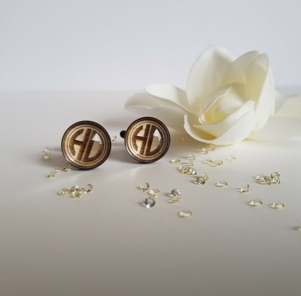 Wooden Wedding Cufflinks
