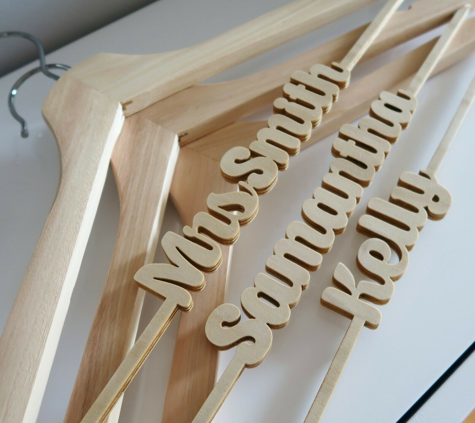 Cut-out Personalised Coathanger
